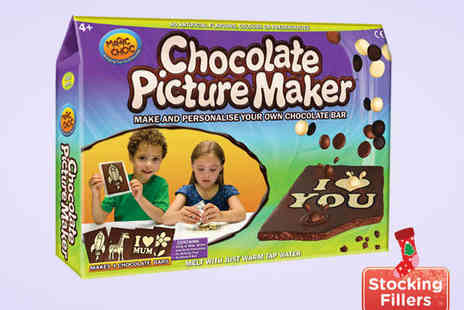 BlocBuy .com - Chocolate Picture Maker Make and Personalise Your Own Chocolate Bar - Save 31%