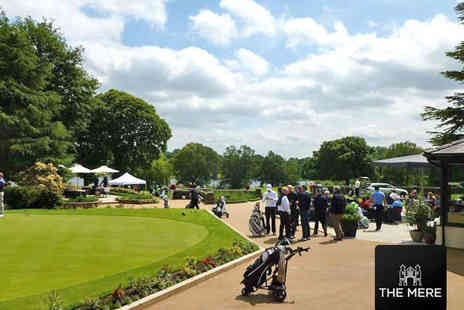 The Mere Golf Resort & Spa - 18 Holes of Championship Golf for Two- Save 59%