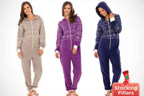 Shopper Gold - Women's Onesie in Choice of Colours - Save 64%
