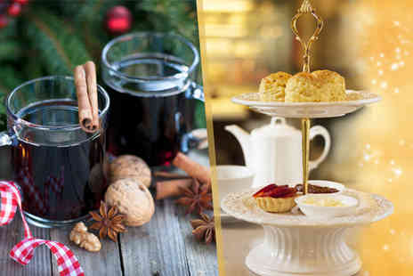Thistle Hotel Plc - Christmas afternoon tea for 2 including a glass of mulled sparkling wine - Save 50%