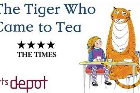 Artsdepot - The Tiger Who Came To Tea Includes Ticket, Programme and Mulled Wine - Save 50%