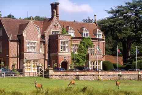 Akkeron Hotel Group - Historic New Forest Manor Stay inc Meals Was - Save 51%