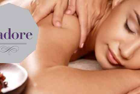 J Adore Nails - Elemis facial and back massage - Save 58%