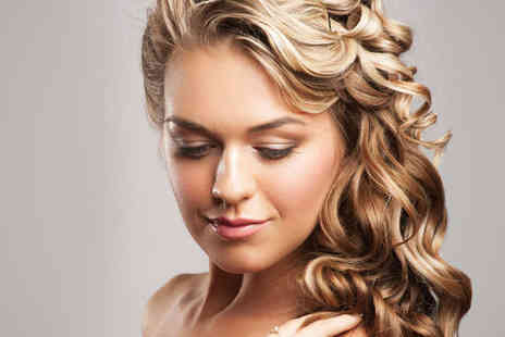 Agassi Hair - Wash, Haircut, and Blow Dry with Half Head Highlights - Save 51%