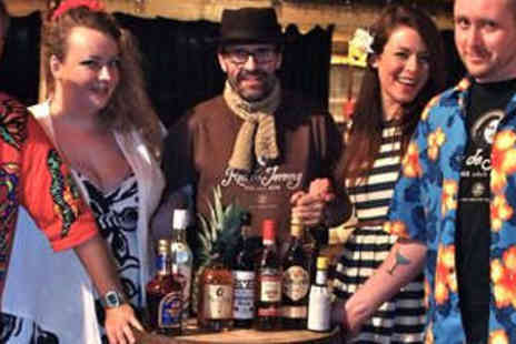 Rum Rebels - Rum Tasting Experience with Six Types of Rum for Two People - Save 63%