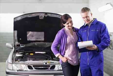 G Harrison Foxhunters Garage - MOT and Service Plus Fluid Top Up - Save 72%