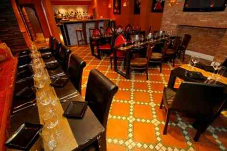 El Cantara - Two Course Meal With Jug of Sangria For Two - Save 67%