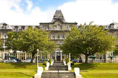 The Palace Hotel Buxton - Splendid Victorian Peak District Escape - Save 44%
