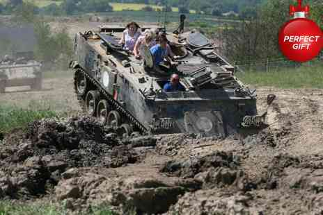 Ultimate Tracks - Tank & military truck experience - Save 61%