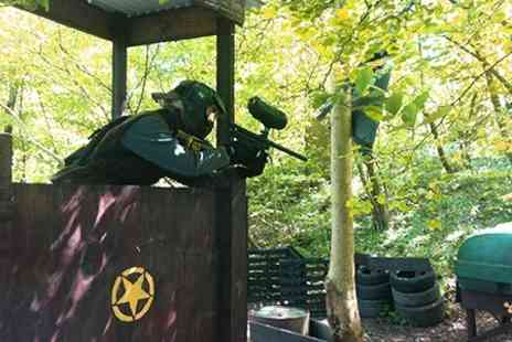Freeline Paintball - Full Day With Lunch For Two - Save 84%