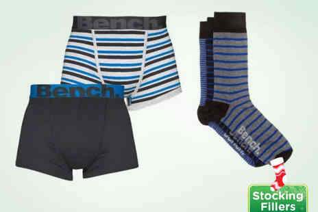 Velocity Outlet - Bench Mens Underwear Gift Set - Save 48%