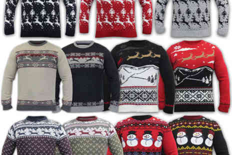 universal_fashion - Mens Knitted Christmas Jumpers - Save 63%