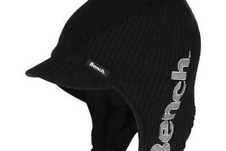benchclothing - Bench Mens Fielding Trapper Hat Black - Save 50%