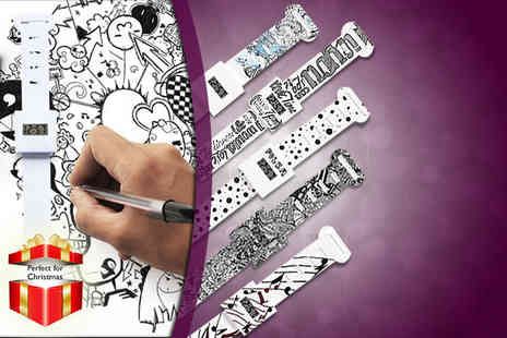 Suga Rush Love - DIY doodle watch get sketching - Save 75%