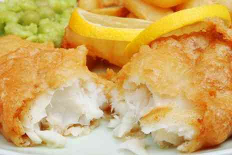 Toast Cafe Bar - Haddock or Scampi and Chips For Two - Save 61%