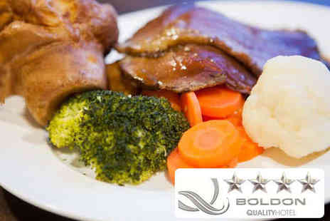 The Quality Hotel Boldon - Day Pass to Leisure Facilities with Sunday Lunch for One - Save 53%