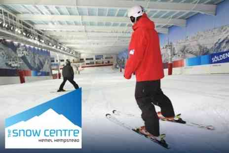 The Snow Centre - Two Hours of Skiing or Snowboarding With Equipment Hire for £15 - Save 59%
