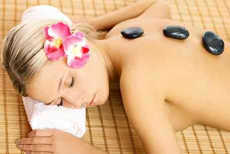 LMG Hair and Beauty - Hot Stone or Swedish Massage - Save 47%