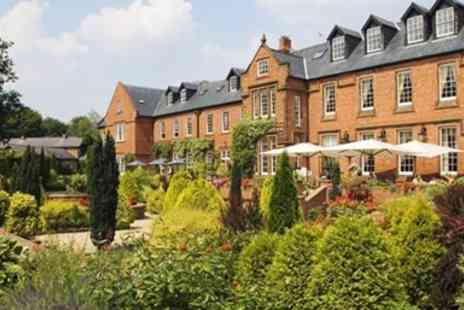 Nunsmere Hall Hotel - Five Course Tasting Meal with Bubbly for 2 - Save 49%