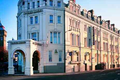 The Angel Hotel - Cardiff Victorian Hotel Stay with Meals & Wine  - Save 50%