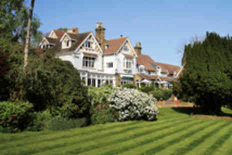 Rowhill Grange & Utopia Spa - Stunning Four Star Kent Break for Two with Three Course Dinner - Save 43%