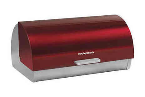 4indoors - Bread Bin Roll Top Red - Save 0%