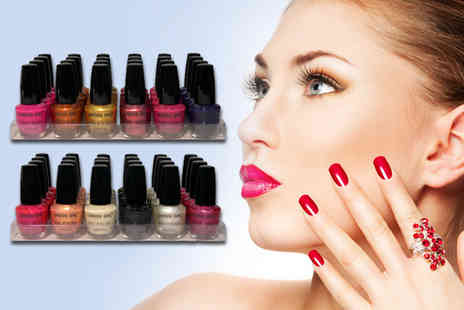 Zuvo - Nail polish pack including 24 polishes in various colours - Save 74%