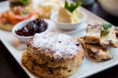 5th View Bar & Food - Sparkling Cream Tea For Two - Save 50%