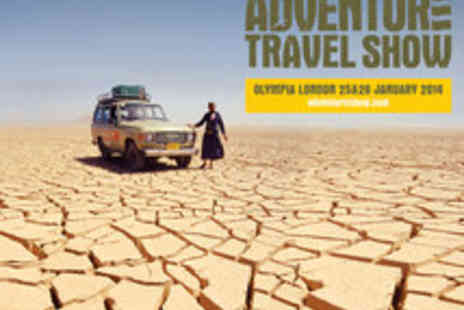 Escape Events - Two Adult tickets to The Adventure Travel Show - Save 44%