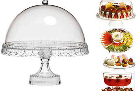 Sashtime - 4 in 1 Cake Stand - Save 57%