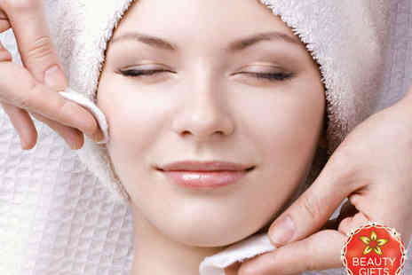 The Day Spa Salon - 30 Minute Express Facial with 30 Minute Hot Stone Back, Neck and Shoulder Massage - Save 50%
