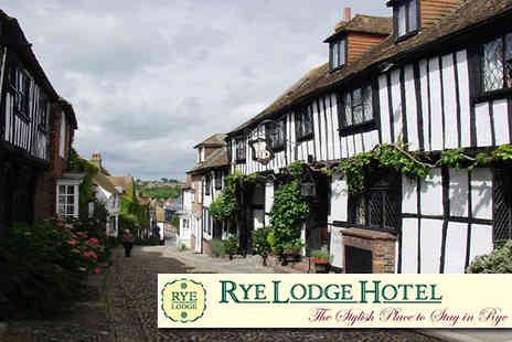 Rye Lodge Hotel - Two night stay for two including spa break champagne on arrival and breakfast at East Sussex - Save 50%