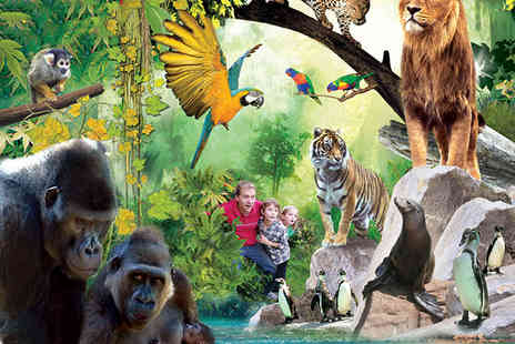 Holiday Inn Chessington - One night stay for a family and one day entry to the Zoo and sea life centre - Save 28%
