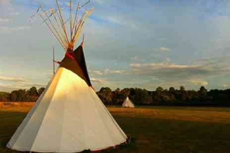 Tipi Adventure - Two Nights For Two - Save 51%