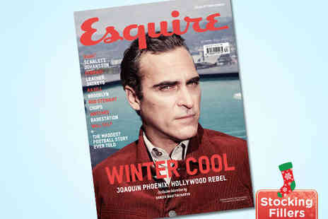 Esquire Magazine - 12 Issue Subscription perfect manual for a stylish life - Save 63%