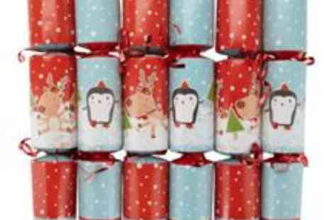 debenhams - Racing Penguins And Reindeer Cracker Game - Save 50%