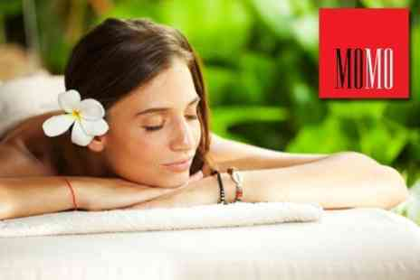 MoMo - Swedishor Relaxing Massage On A Choice Of Areas for £18 - Save 65%