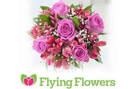 Flying Flowers - Gorgeous Bouquets of Flowers - Save 50%