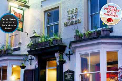 The Bay Horse - Two night North Yorkshire escape for two including full English breakfasts - Save 51%