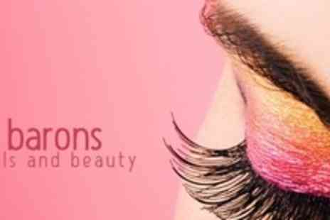 Barons Nails and Beauty Salon - Semi Permanent Eyelash Extensions and Brow Tidy - Save 67%
