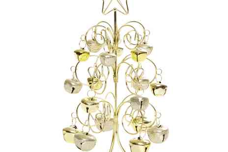 debenhams - Debenhams Gold Bell Christmas Tree - Save 30%
