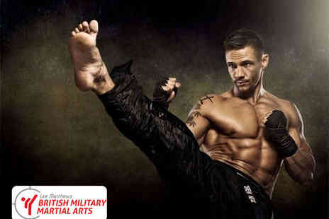 Lee Matthews British Military Martial Arts - One Month Kickboxing Membership - Save 91%