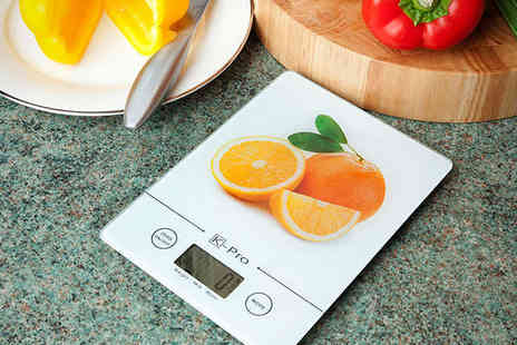 Garden Games - K Pro Ultra Slim Digital Kitchen Scales - Save 81%