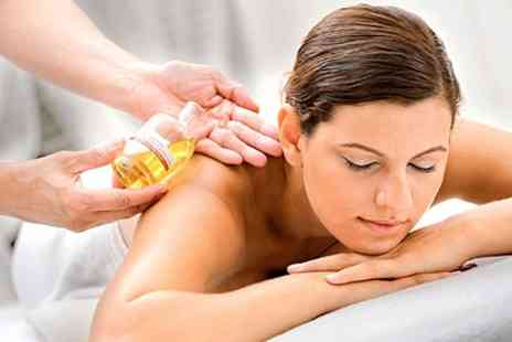 Quinway Health - Aromatherapy Massage Plus Facial and OPI Manicure - Save 58%