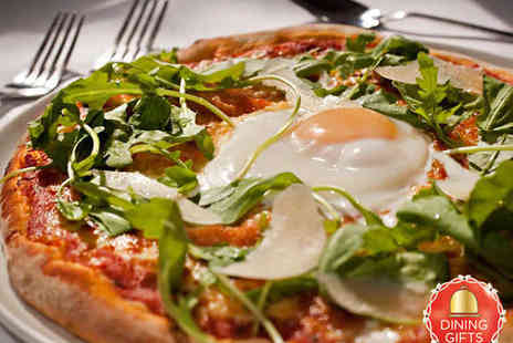Carlitos- Two Pizza or Pasta Dishes with Glass of Wine or Beer - Save 53%