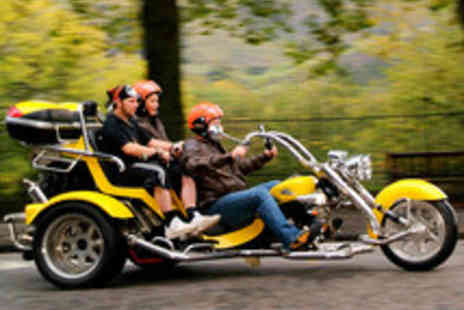 Trike Tours Scotland - Trike Tour and Photoshoot for Two Including Whisky - Save 61%