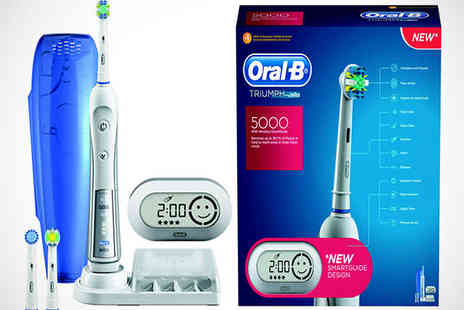 Duracell Direct - Oral B Triumph 5000 Toothbrush - Save 60%