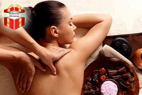 Taras Beauty - Back,neck and shoulder massage and Dermalogica express facial - Save 72%