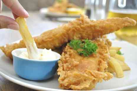 The Schooner - Fish and Chips For Two - Save 50%
