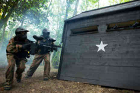 Allied Paintball - Paintballing for Two or Five with 50 Paintballs - Save 77%
